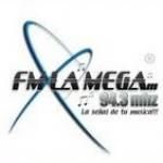 Logo da emissora Radio La Mega 94.3 FM