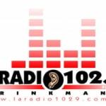 Logo da emissora La Radio 102.9 FM