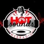 Logo da emissora Rádio Hot Sounds