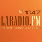 Logo da emissora La Radio 104.7 FM