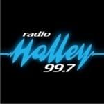 Logo da emissora Radio Halley 99.7 FM