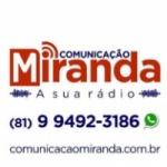 Logo da emissora Comunicação Miranda