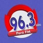 Logo da emissora Rádio Pará 96.3 FM