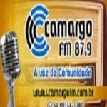 Logo da emissora Rádio Camargo 87.9 FM