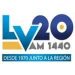Logo da emissora Radio Laboulaye 1440 AM
