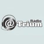 Logo da emissora Rádio Atrium