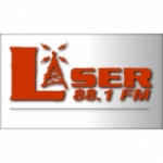 Logo da emissora Radio Láser 88.1 FM