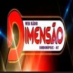Logo da emissora Web Rádio Dimensão
