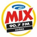 Logo da emissora Rádio Mix 90.7 FM