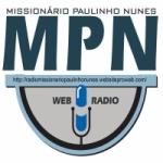 Logo da emissora Rádio Missionário Paulinho Nunes