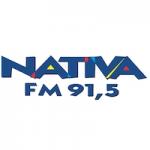 Logo da emissora Rádio Nativa  91.5 FM