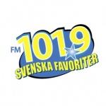 Logo da emissora Metro 101.9 FM