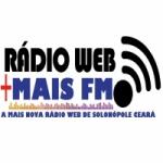 Logo da emissora Rádio Web Mais FM