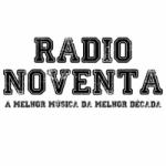 Logo da emissora Rádio Noventa