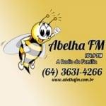 Logo da emissora Rádio Abelha 104.9 FM