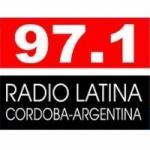Logo da emissora Radio Latina 97.1 FM