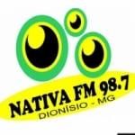 Logo da emissora Rádio Nativa 98.7 FM
