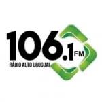 Logo da emissora Rádio Alto Uruguai 106.1 FM