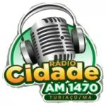 Logo da emissora Rádio Cidade Am 1470