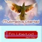 Logo da emissora Radio Libertad 94.7 FM