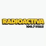 Logo da emissora Radioactiva 100.7 FM