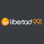 Logo da emissora Radio Libertad 99.1 FM