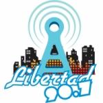 Logo da emissora Radio Libertad 90.7 FM