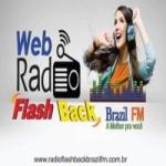 Logo da emissora Rádio Flash Back Brasil FM