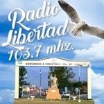 Logo da emissora Radio Libertad 103.3 FM