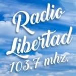 Logo da emissora Radio Libertad 103.7 FM