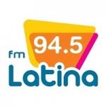 Logo da emissora Radio Latina 94.5 FM