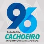 Logo da emissora Rádio Cachoeiro 96.3 FM