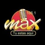 Logo da emissora Radio Max 105.1 FM