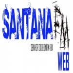 Logo da emissora Santana FM