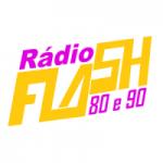 Logo da emissora Rádio Flash 80 e 90