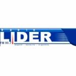Logo da emissora Radio Líder 90.7 FM