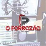 Logo da emissora Rádio O Forrózão