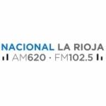 Logo da emissora Radio Nacional 620 AM 102.5 FM
