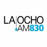 Logo da emissora Radio La Ocho 830 AM