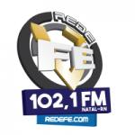 Logo da emissora Rede Fé Natal 102.1 FM