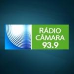 Logo da emissora Rádio Câmara Bauru 93.9 FM
