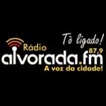 Logo da emissora Rádio Alvorada 87.9 FM