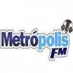 Logo da emissora Rádio Metrópolis 104.9 FM