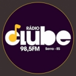 Logo da emissora Rádio Clube 98.5 FM