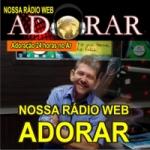 Logo da emissora Nossa Rádio Web Adorar