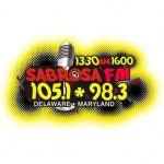 Logo da emissora WRJE 1600 AM Sabrosa Radio