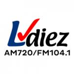 Logo da emissora Radio LVDiez 720 AM 104.1 FM