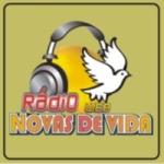 Logo da emissora Rádio Novas de Vida