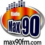 Logo da emissora Max 90 FM