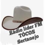 Logo da emissora Rádio Líder FM Tócos